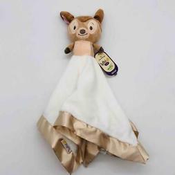 "New Hallmark Itty Bittys 14"" Disney Baby Bambi Lovey Securit"
