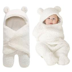 New Kids Bed Cover Bedding Coat Swaddle Wrap Newborn Baby Pl
