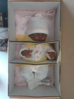 NEW Berenguer La Newborn African American Baby Girl Doll W/