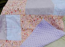 NEW- Lap Baby Blanket Comforter Nap Children Kids Wheelchair
