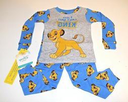 New Disney Lion King baby toddler boys pajamas 9m 12m 18m 24