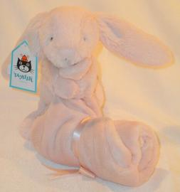 NEW ~ Jellycat Little Bashful Bunny Soother Security Blanket