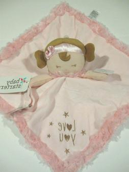 New Baby Starters Little Girls Security blanket with Pacifie