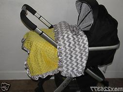 NEW Minky Dots Nursery Toddler child baby Blanket Satin Ruff