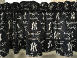 NEW MLB NY NEW YORK YANKEES Baseball Sports Valance Curtain
