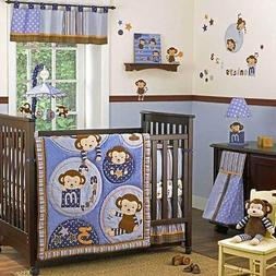 NEW CoCaLo MONKEY MANIA 13 piece BABY CRIB BEDDING SET