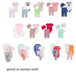 Carters 3 Piece Set Complete Outfit for Newborn 3 6 9 12 Mon