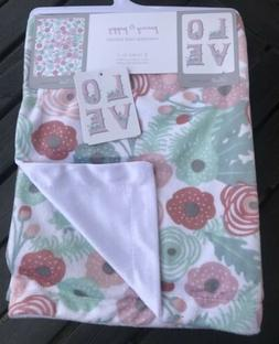 New Penny And Poppy Reversible Baby Blanket 2 Looks in 1 Sup
