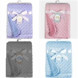 New Luxury Baby Blanket Embroidered Boy Girl New Baby Birth