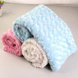 Baby Wool Blanket Swaddle Wrap Toddler Bedding Towel Wool Cu