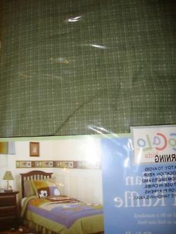 NEW CoCaLo SPORTS FAN GREEN TWIN DUST RUFFLE BED SKIRT