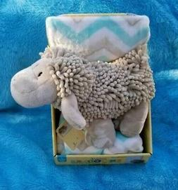 New Little Miracles Sweet Snoodles Baby Security Blanket 2 P