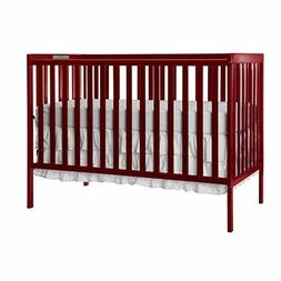 NEW Dream On Me Synergy 5-in-1 Convertible, Crib, Cherry FRE