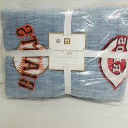 New Pottery Barn Teen MLB  Major League Baseball Full/Queen