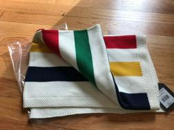 New W/Tags HUDSON'S BAY Knit Baby Throw Blanket In Iconic St