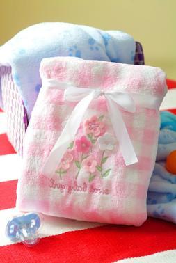 New Warm Cozy Newborn Infant Baby Fleece Blanket Size 30'x40