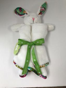 NEW Vera Bradley White Lovey Bunny TUTTI FRUTTI Security Bla