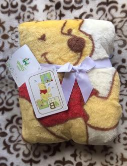 New: Disney Baby - Winnie The Pooh Baby ABC Luxury Plush Thr