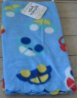 """NEW WITH TAGS 30"""" by 30"""" Fleece Baby Receiving Blanket, 100%"""