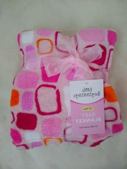 NEW WITH TAGS LITTLE BEGINNINGS BABY BLANKET SOFT FLEECE PIN