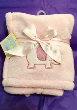 New With Tags ~ CUTIE PIE Pink Baby Blanket Security Soft Pl