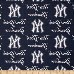 New York Yankees Navy White Baseball Sports Handmade Valance