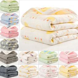 Newborn Baby Bassinet Soft Warm Cotton Blankets Cartoon Bedd