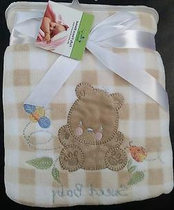 Newborn Baby Bedding Blanket Soft, Cozy, Snuggly Sweet Baby