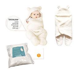 Wolmund Newborn Baby Boys Girls 0-12 Months Cute Cotton Rece