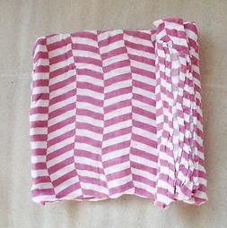 La Libellule BeBe Newborn Baby Gift Swaddle Blanket 100% Org