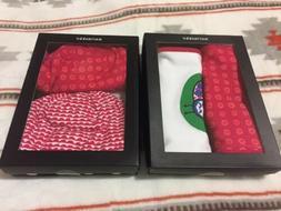 MARIMEKKO NEWBORN BABY Girl 2 Pc  HAT Set+ 2 Bibs, Gift Set