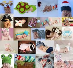 Newborn Baby Girl Boy Crochet Knit Costume Photo Photography
