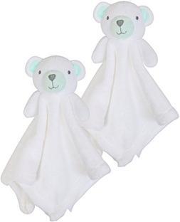 Bon Bebe Newborn Baby Huggybuddy Plush Security Blanket  Bea