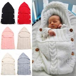 newborn baby infant cable knit blanket swaddle