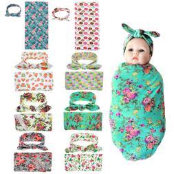Newborn Baby Infant Swaddle Blanket Sleeping Rug Swaddle Mus