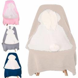 Newborn Baby Napping Blanket Bunny Rabbit Bedding Towel Cove