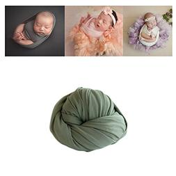 Newborn Baby Photo Props Blanket Stretch Without Wrinkle Wra