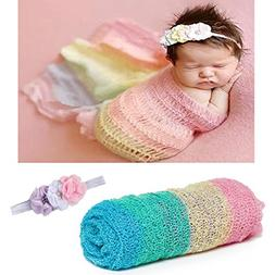 Newborn Baby Photography Props - Long Ripple Wrap Blanket an