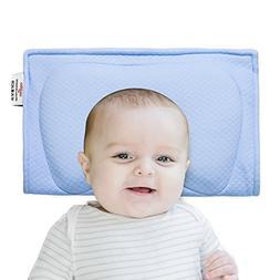 Newborn Baby Pillow Soft Memory Foam Organic Breathable Cott