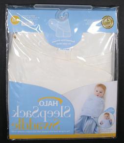 HALO NEWBORN BABY SLEEP SACK WEARABLE 2-IN-1 SWADDLE BLANKET