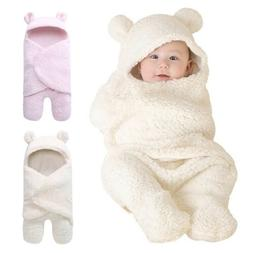 Newborn Infant Baby Warm Swaddle Sleeping Bag Wrap Blanket P