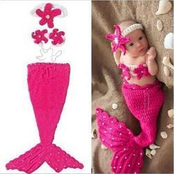 Newborn Boy Girl Baby Crochet Knit Costume Photography Photo
