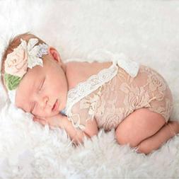 Mummyhug Newborn Cute Baby Girl Photography Prop Vest Onesie