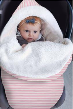 Newborn Infant Baby Blanket Knit Crochet Winter Warm Swaddle