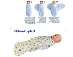 Newborn Infant Baby Kids Swaddle Soft Sleeping Blanket Wrap