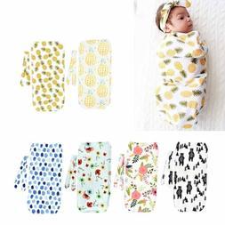 Newborn Infant Baby Swaddle Blanket Sleeping Bag Swaddle Mus