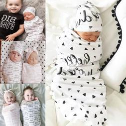 Newborn Soft Muslin Cotton Floral Baby Swaddle Winter Nurser