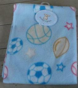 """Nice NEW Snugly Baby 28"""" by 28"""" Receiving Blanket, 100% Poly"""