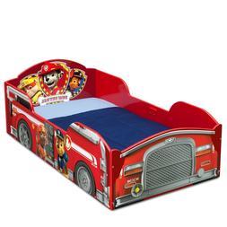 Kids Nick Jr PAW Patrol Fireman Truck Toddler Bed Marshall C