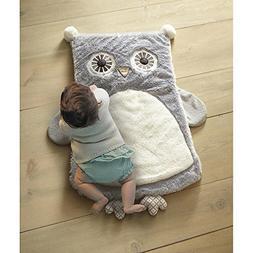 Levtex Baby Night Owl Playmat - Gray